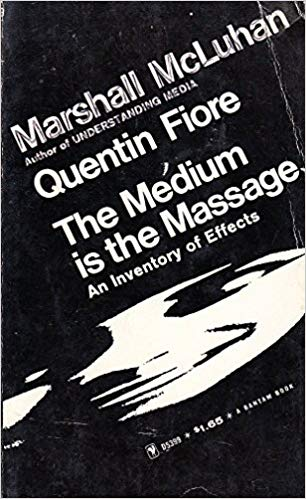 Buchtitel Marshall McLuhan – The Medium is the Massage