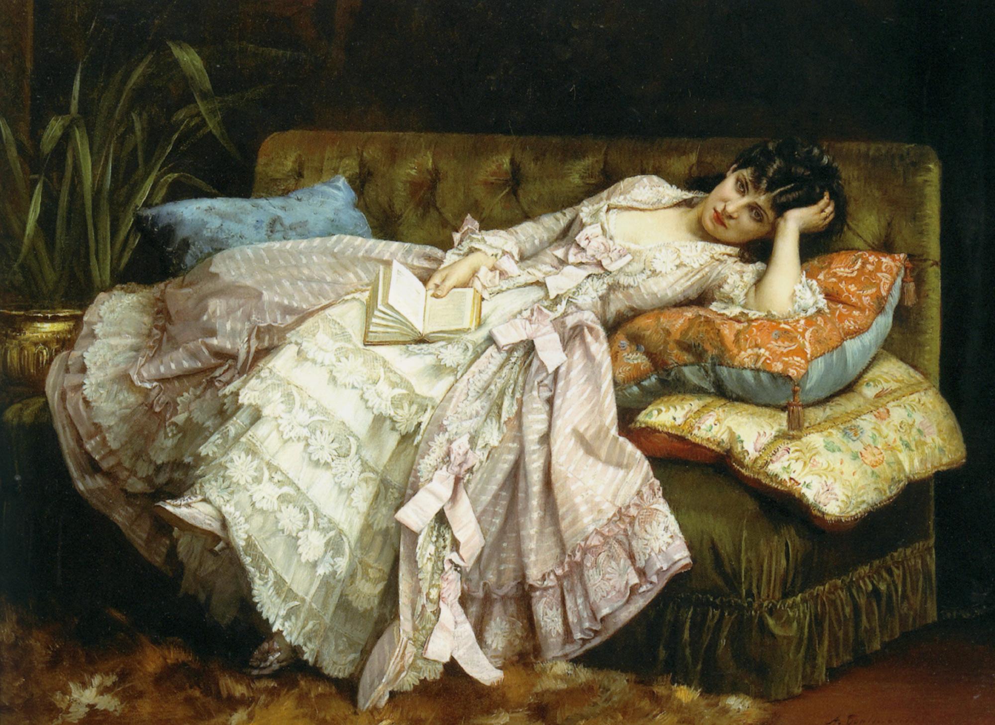 Auguste Toulmouche - Dolce far niente