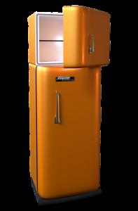 Ein Kühlschrank